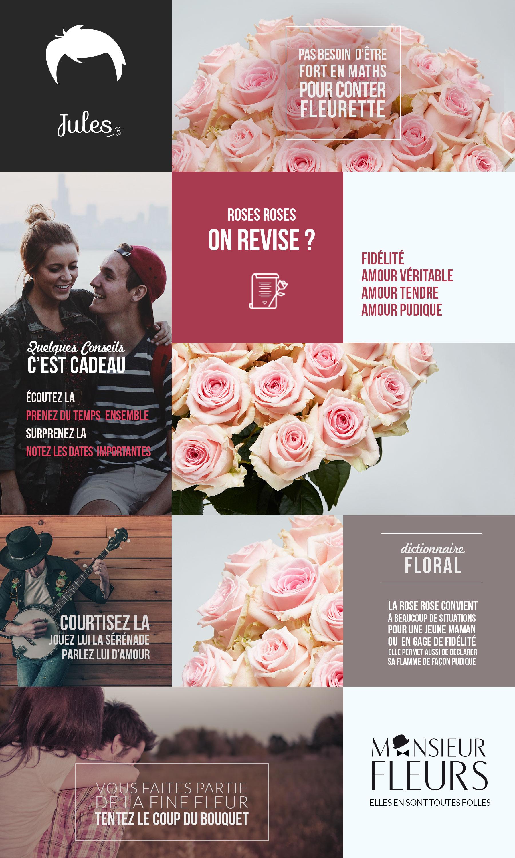 Bouquet Fidèle par Monsieur Fleurs