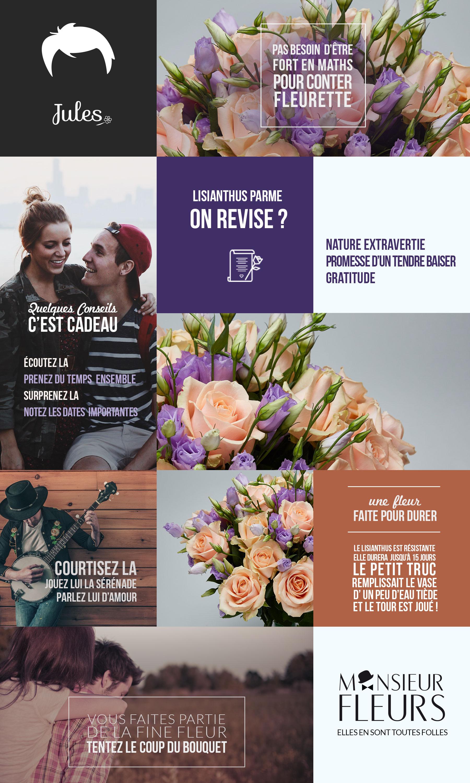 Bouquet plaisir par Monsieur Fleurs