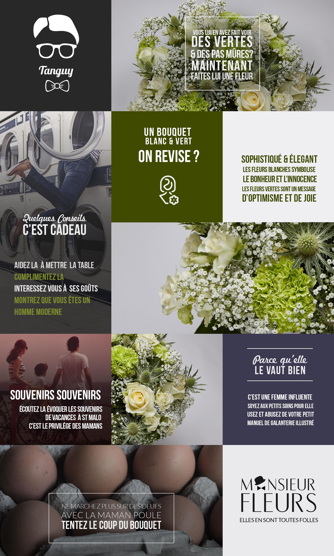 Bouquet belle doche par Monsieur Fleurs
