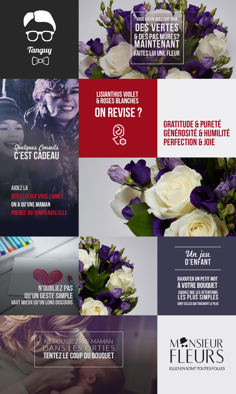 Bouquet maman par Monsieur Fleurs