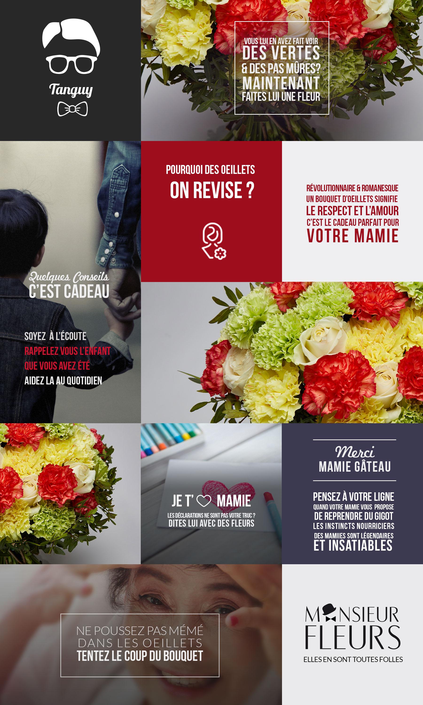 Bouquet mamie par Monsieur Fleurs