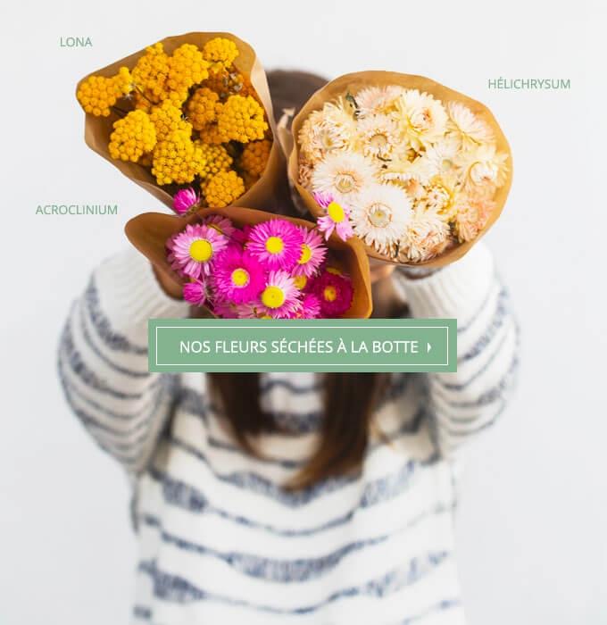 Nos fleurs séchées