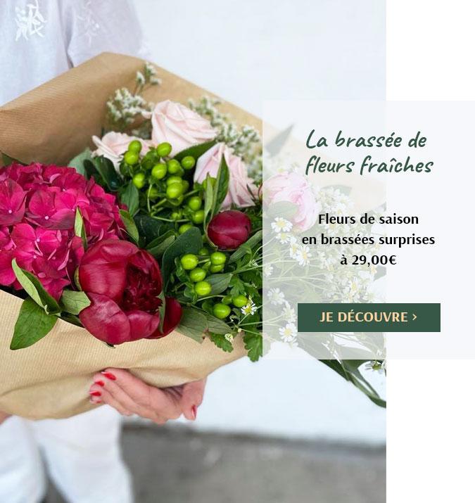 Votre brassée de fleurs fraîches